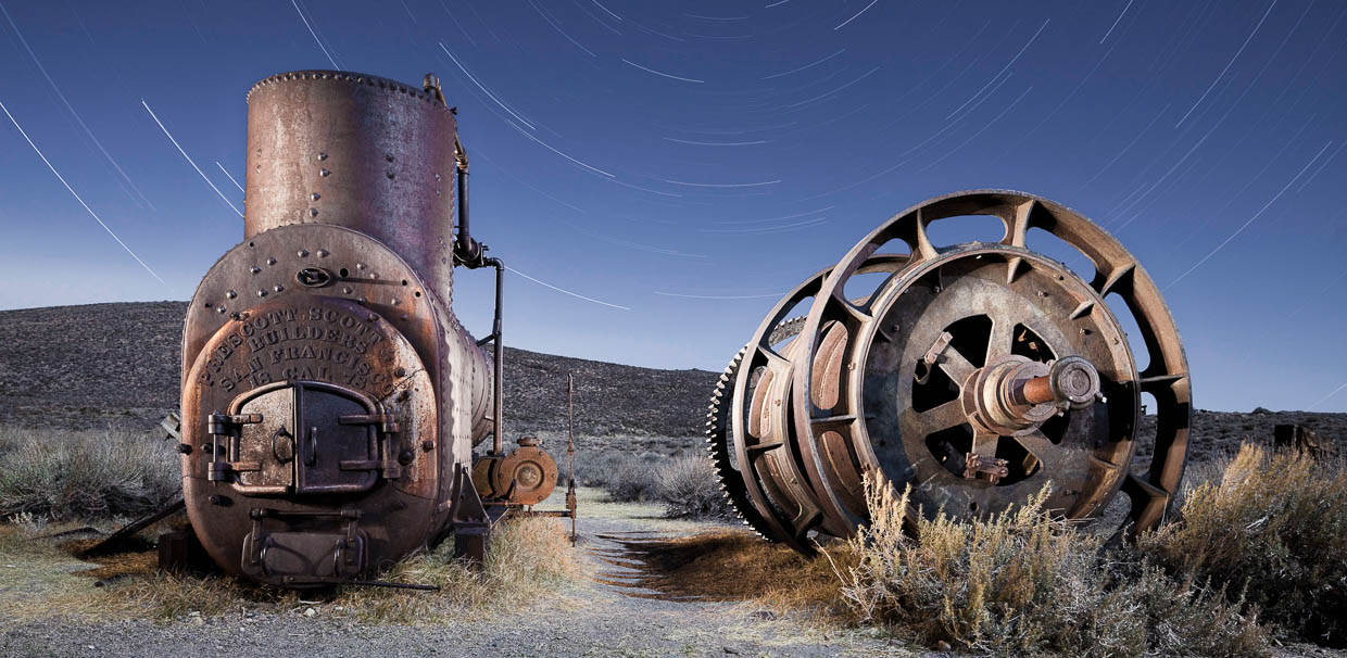 Bodie Boiler and Spools by Scott Martin