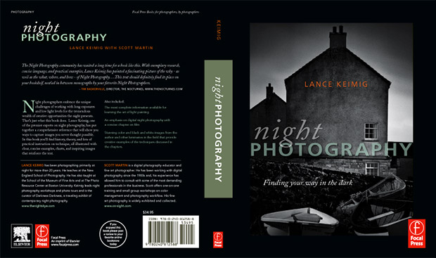 Book Cover Photography History : Night photography book announcement