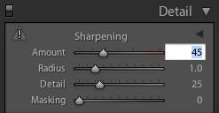 LR Sharpening