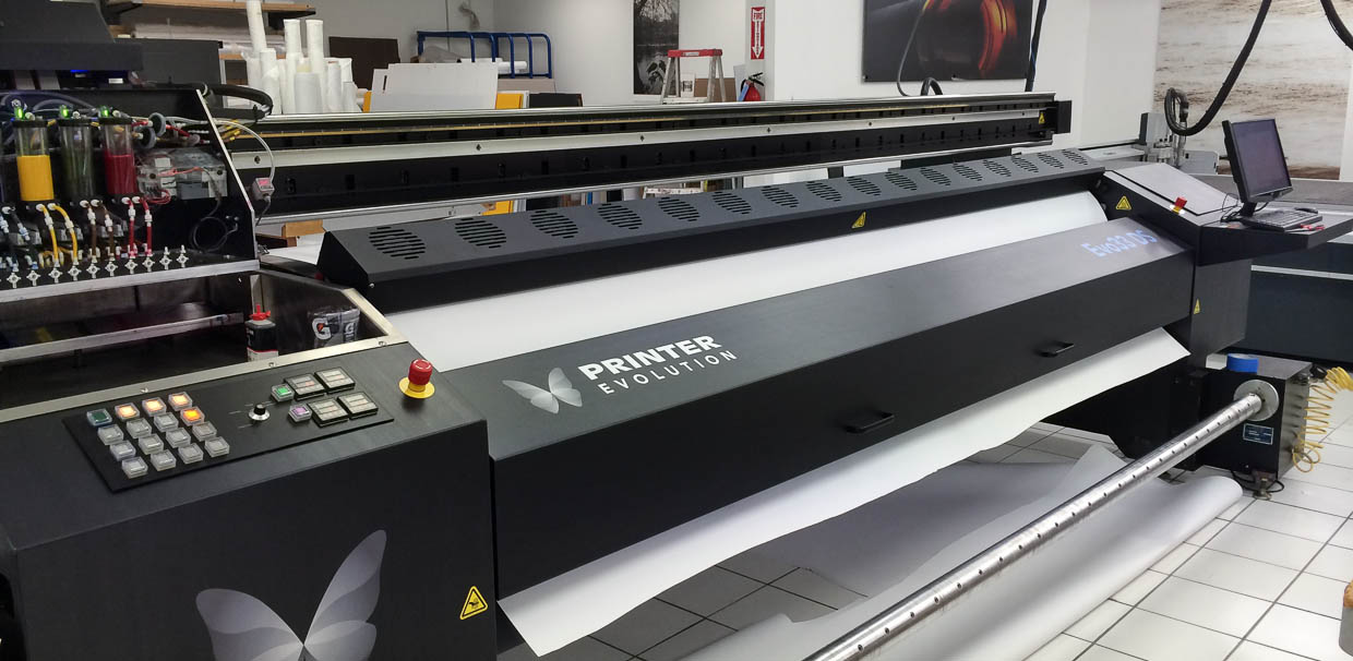 Evo 33 DS - 3 meter sublimation printer