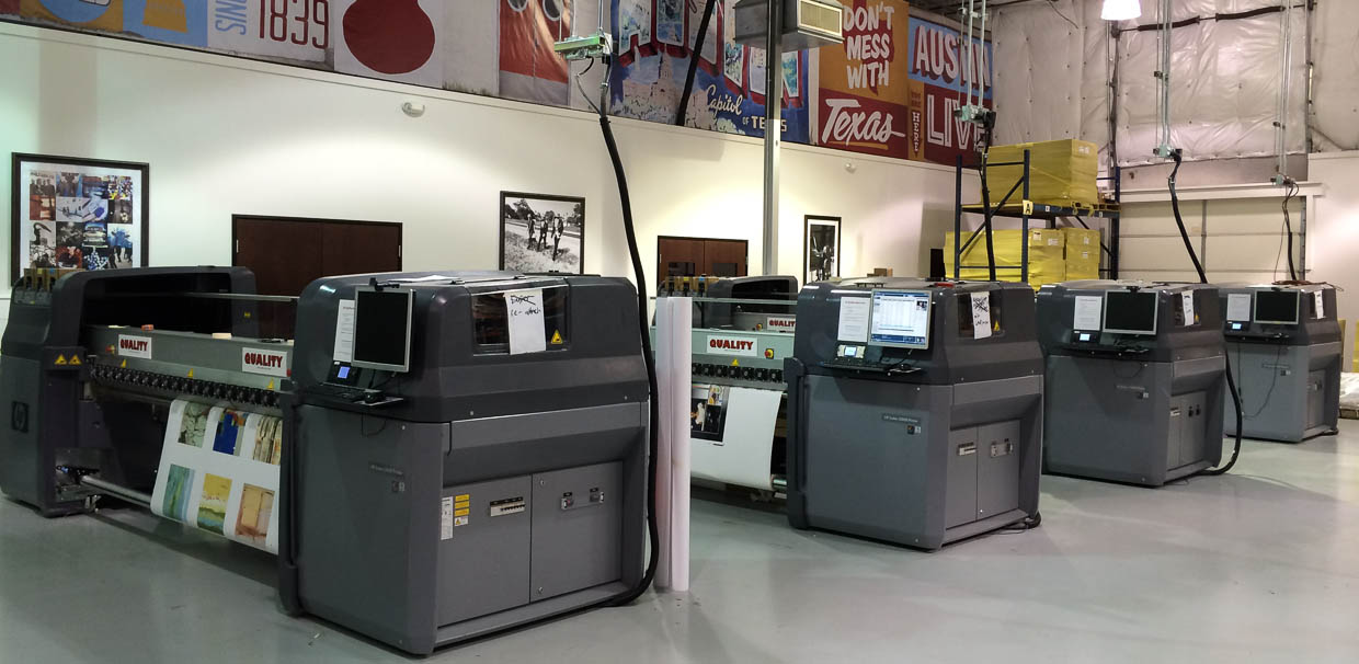 HP Latex printers at New Era Publishing