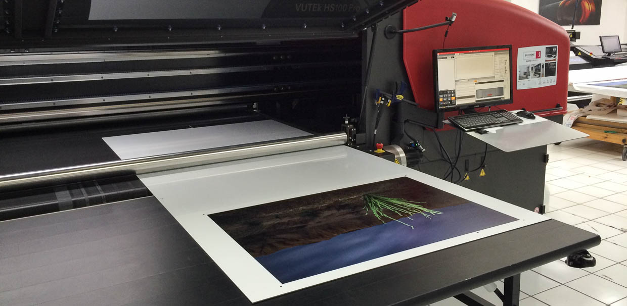30x40 UV Curable Print on white aluminum dibond
